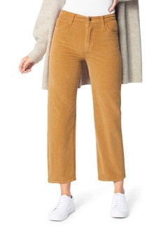 Joe's Jeans Joe's The Blake High Waist Crop Wide Leg Corduroy Jeans (Butterscotch)
