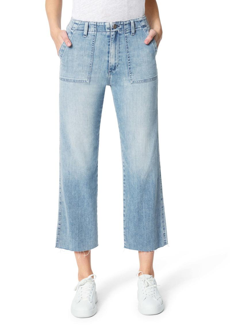 Joe's Jeans Joe's The Blake High Waist Crop Wide Leg Utility Jeans (Tenaya)