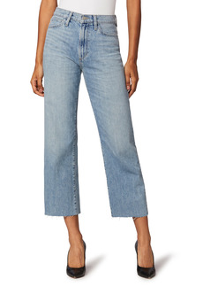 Joe's Jeans Joe's The Blake Raw Hem Crop Wide Leg Jeans (Virgo)