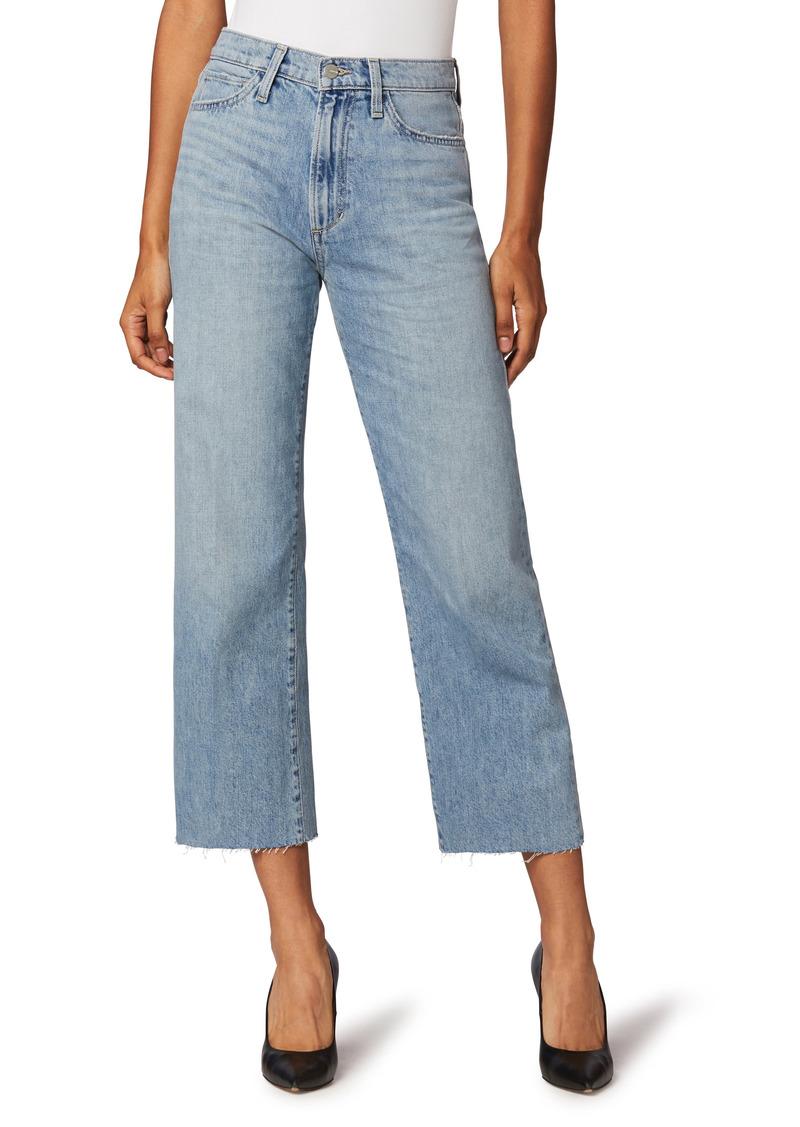 Joe's Jeans Joe's The Blake Raw Hem Crop Wide Leg Jeans (Virgo)