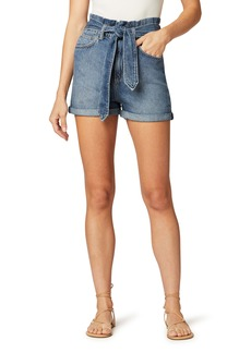 Joe's Jeans Joe's The Brinkley High Waist Roll Cuff Denim Shorts (Alone Together)