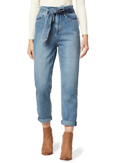 Joe's Jeans Joe's The Brinkley Paperbag Waist Crop Straight Leg Jeans (Alone Together)