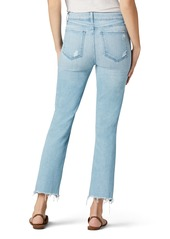 Joe's Jeans Joe's The Callie High Waist Fray Hem Crop Flare Jeans (Sunny)