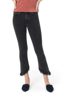 Joe's Jeans Joe's The Callie High Waist Frayed Crop Bootcut Jeans (Audrey)