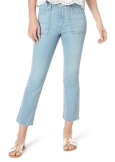 Joe's Jeans Joe's The Callie Utility Pocket High Waist Crop Bootcut Jeans (Steffy)