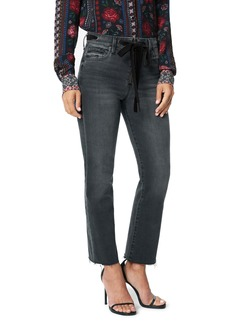Joe's Jeans Joe's The Callie Velvet Trim High Waist Crop Bootcut Jeans (Trailblazer)