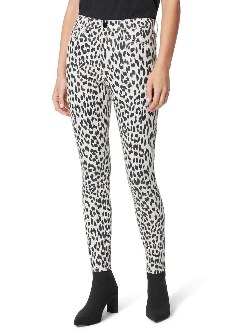 Joe's Jeans Joe's The Charlie Animal Print Ankle Skinny Jeans