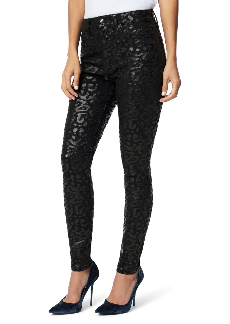 Joe's Jeans Joe's The Charlie Animal Print Jacquard Jeans (Shiny Cheetah Print)