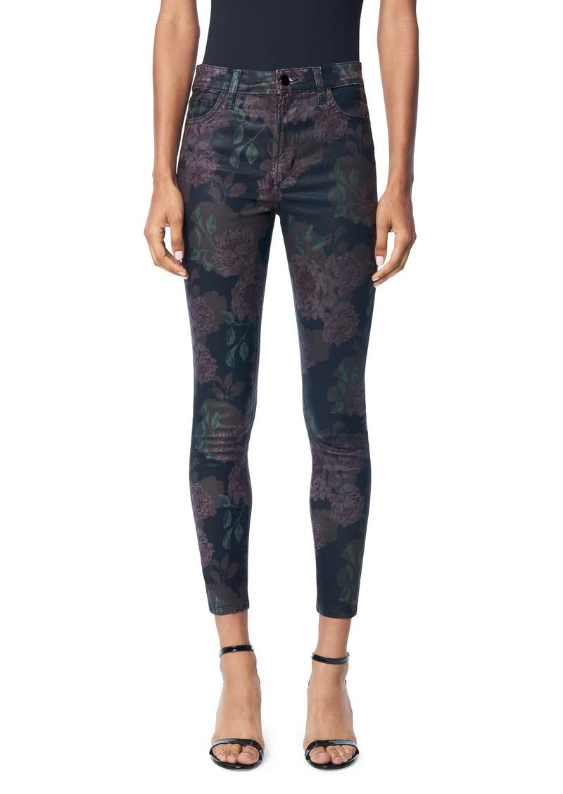 Joe's Jeans Joe's The Charlie High Waist Ankle Skinny Jeans (Calyx Coated)