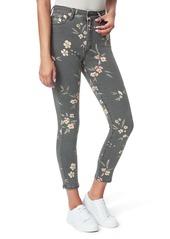 Joe's Jeans Joe's The Charlie High Waist Ankle Skinny Jeans (Painted Blossoms)