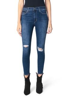 Joe's Jeans Joe's The Charlie High Waist Ripped Ankle Skinny Jeans (Halo)