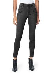 Joe's Jeans Joe's The Charlie Moto Ankle Skinny Jeans (Hawking)