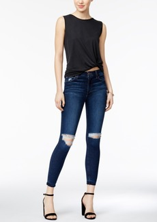 Joe's The Charlie Ripped Cropped Skinny Jeans