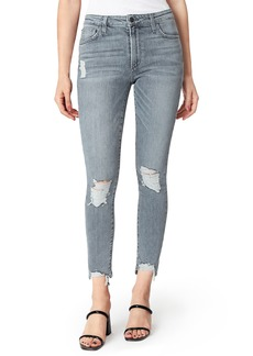 Joe's Jeans Joe's The Charlie Ripped High Waist Ankle Skinny Jeans (Vetiver)