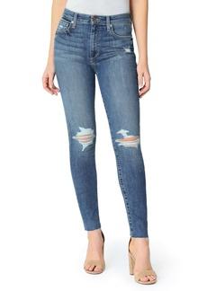 Joe's Jeans Joe's The Charlie Ripped Raw Hem Ankle Jeans (Shoreline)