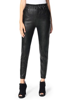 Joe's Jeans Joe's The Faux Leather Paperbag Waist Pants