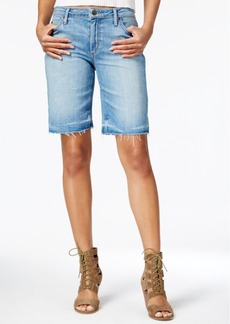 Joe's Jeans Joe's The Finn Yenz Wash Denim Bermuda Shorts