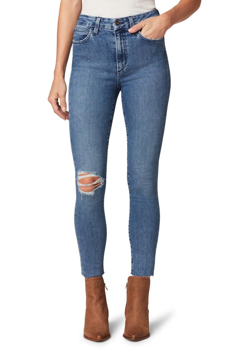Joe's Jeans Joe's The Hi Honey Ripped Crop Skinny Jeans (Allure)
