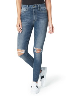 Joe's Jeans Joe's The Hi Honey Ripped Cut Hem Ankle Skinny Jeans (Bellflower)
