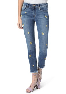 Joe's Jeans Joe's The Icon Embroidered Crop Skinny Jeans (Brooklynn)