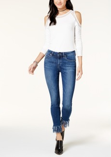 Joe's Jeans The Icon Ankle w/ Extreme Fray Jeans