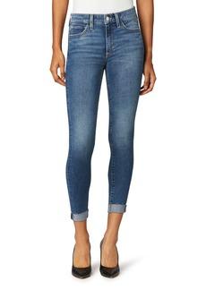 Joe's Jeans Joe's The Icon Raw Hem Crop Skinny Jeans (Wavelength)
