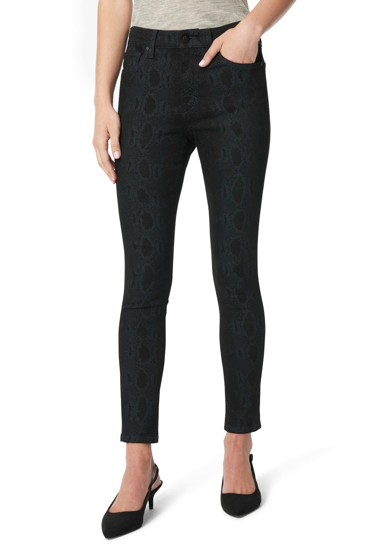 Joe's Jeans Joe's The Icon Skinny Ankle Jeans (Black Snake Print)