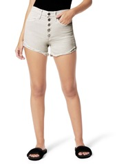 Joe's Jeans Joe's The Kinsley High Waist Fray Hem Cutoff Denim Shorts (Beachsand)