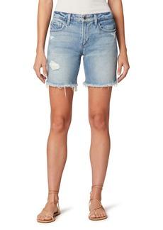 Joe's Jeans Joe's The Lara Ripped Denim Bermuda Shorts (Indiana)