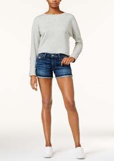 Joe's The Markie Frayed Cuffed Denim Shorts