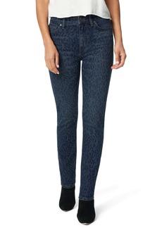Joe's Jeans Joe's The Milla High Waist Ankle Straight Leg Jeans (Indigo Laser Cheetah)