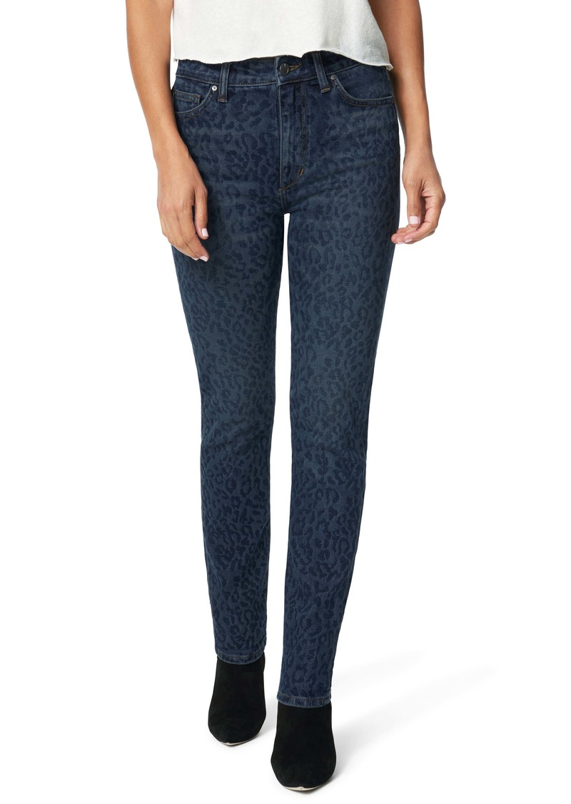 Joe's Jeans Joe's The Milla High Waist Ankle Straight Leg Jeans (Indigo Laser Cheetah)