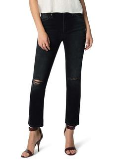Joe's Jeans Joe's The Milla Ripped High Waist Ankle Straight Leg Jeans (Nova)