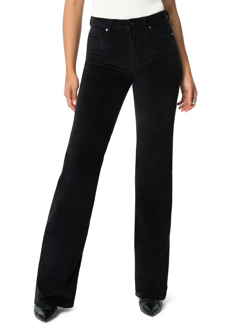 Joe's Jeans Joe's The Molly High Waist Velvet Flare Jeans