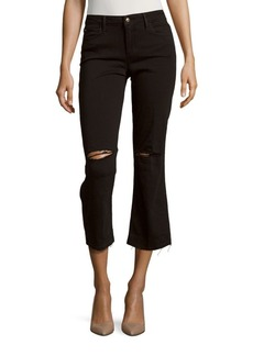 Joe's The Olivia Flare Cropped Jeans