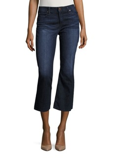 Joe's The Olivia Flared Cropped Jeans