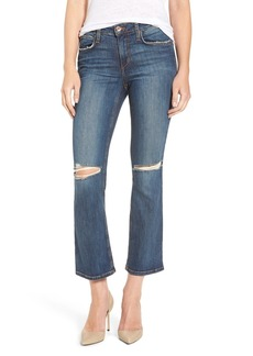 Joe's Jeans Joe's 'The Olivia' Ripped Crop Bootcut Jeans (Mellie)