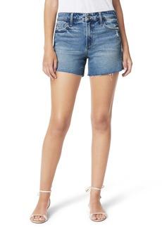 Joe's Jeans Joe's The Ozzie Distressed Cutoff Denim Shorts (Clematis)