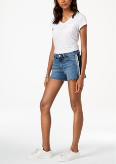 Joe's Jeans The Ozzie Tuxedo-Stripe Denim Shorts