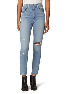 Joe's Jeans Joe's The Raine Ripped Super High Waist Ankle Slim Jeans (Origin)