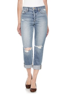 Joe's The Smith Distressed Crop Boyfriend Jeans (Weaver)