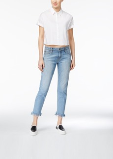 Joe's The Smith Frayed Ankle Jeans