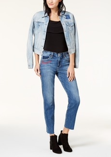 Joe's The Smith Love 'Em And Leave 'Em Embroidered Ankle Jeans