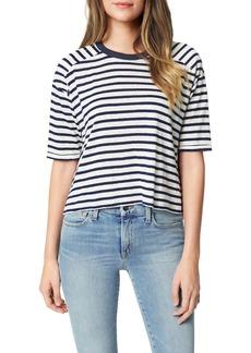 Joe's Jeans Joe's The Stripe Drop Sleeve T-Shirt