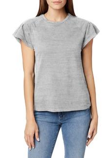Joe's Jeans Joe's Trudie Flutter Sleeve T-Shirt