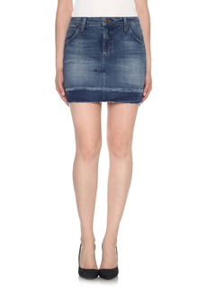 Joe's Wasteland High Rise Cutoff Denim Skirt (Jemima)