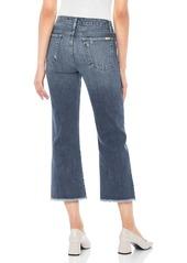 Joe's Jeans Joe's Wyatt Crop Wide Leg Jeans (Saxon)