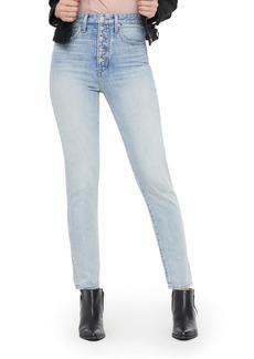 Joe's Jeans Joe's x WeWoreWhat The Danielle High Waist Jeans (Vintage Light)