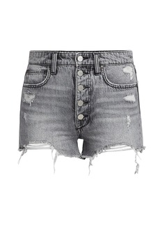 Joe's Jeans Kinsley Distressed Denim Shorts
