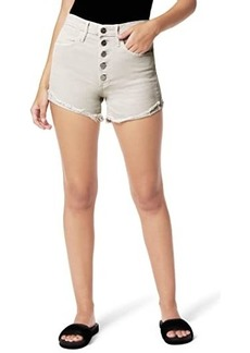 Joe's Jeans Kinsley Shorts w/ Exposed Button Fly in Beachsand